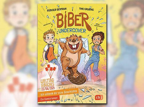 Buchcover: Biber Undercover