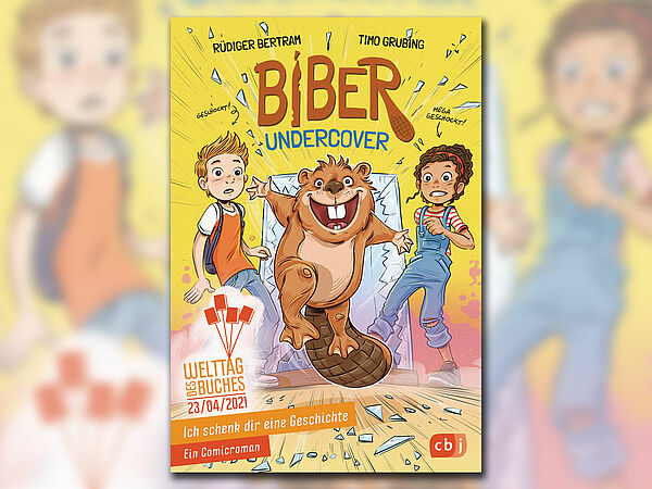 Buchcover: Biber Undercover | Bildquelle: cbj